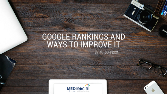 google-rankings-and-ways-to-improve-it